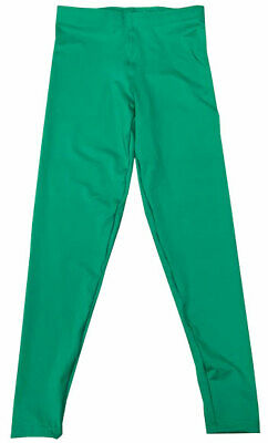 $69.99 • Buy Green Pro Wrestling Long Tights WWE MMA NXT ROH NWA Professional Gear