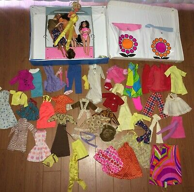 $ CDN225.63 • Buy  Lot Of Vintage Barbie Dolls World Of Barbie Case Other Dolls Clothes Accessorie