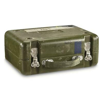 $35.46 • Buy Storage Box British Military Surplus Issue Army Green Organize Collect Stackable