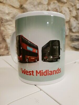National Express West Midlands Bus Logo Cup / Mug • 9.99£