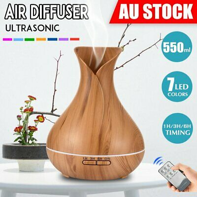 AU28.05 • Buy Aroma Aromatherapy Diffuser Essential Oil LED Ultrasonic Air Humidifier Purifier