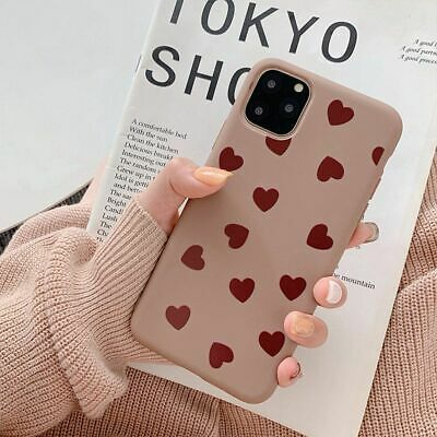 AU8.96 • Buy Cute Love Heart Case Soft TPU Back Cover For IPhone 11 Pro Max X XR XS Max 7 8