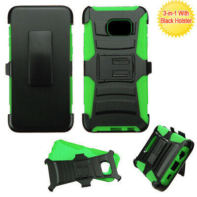 $ CDN13.59 • Buy For Samsung Galaxy S6 Edge PLUS Black/Green Advanced Armor Stand Case Holster