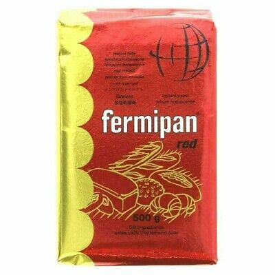 Fermipan Red 500g Instant Dried Yeast For Bread Bakers Bakery • 6.49£