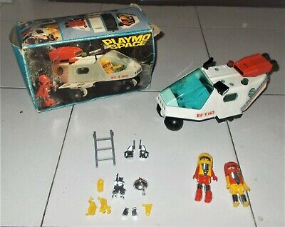 PLAYMO SPACE 3534 Nave 2 Astronauts Space Shuttle - 1980 BOX Playmobil • 25.73£