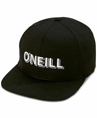$17.99 • Buy O'NEILL Black Double Logo FlexFit Baseball Hat Cap NEW L - XL
