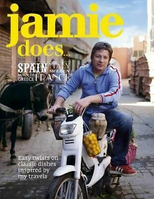AU47.75 • Buy NEW Jamie Does... Spain By Jamie Oliver Hardcover Free Shipping
