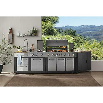 $3125 • Buy Ultimate Outdoor Kitchen Grill, 5 Burner, 3-Piece Stainless Steel Construction