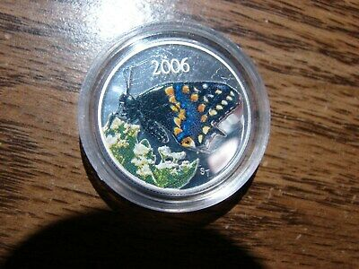 $35.99 • Buy 2006 Canada Colored Swallowtail Butterfly Coin Awesome Make Offer!!! Obo!!!