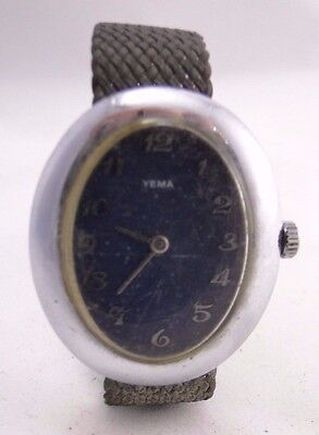 AU100 • Buy Watch Yema Movement Mechanical Automatic Sold IN The Condition Non Revise B350