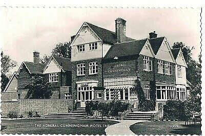 Berkshire -r/p- The Admiral Cunningham Hotel, Priestwood Crt. Rd. Bracknell,1961 • 1.50£
