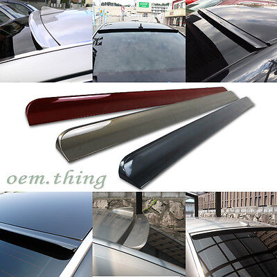 $55 • Buy Painted Fit FOR Ford Mustang 5th 2D Coupe Roof Window Spoiler Wing 05-09 PUF