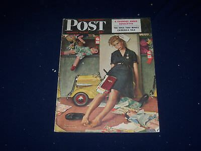 $ CDN127.59 • Buy 1947 Dec 27 The Saturday Evening Post Magazine - Norman Rockwell Cover - Sp 5773