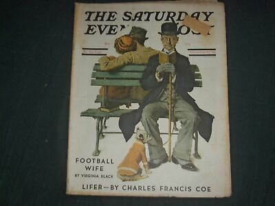$ CDN89.02 • Buy 1936 Nov 21 The Saturday Evening Post Magazine -norman Rockwell Cover - Sp 2473s