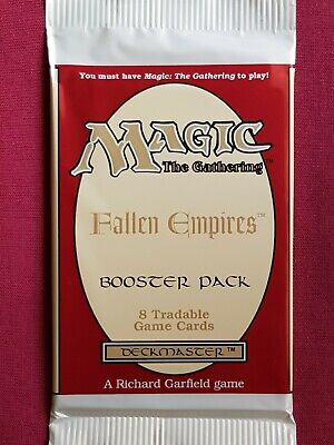 AU15.95 • Buy Magic The Gathering FALLEN EMPIRES New Sealed Booster Pack MTG