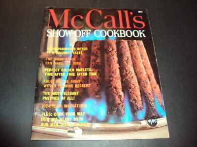 $10 • Buy McCall's Show-Off Cookbook M14 First Print 1965 ID:44390