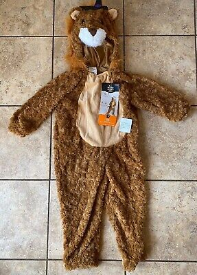 £10.78 • Buy Lion Costume Dress Up Toddler Safari Africa Zoo 2-3T NWT