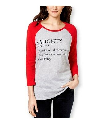 AU26.69 • Buy Pretty Rebellious Clothing Womens Naughty Defined Graphic T-Shirt