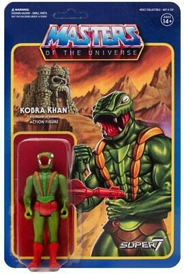 $19.99 • Buy Super7 Master Of The Universe Reaction 3.75  Kobra Khan