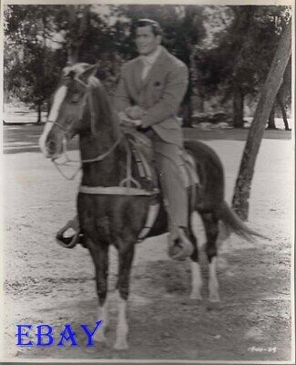 $39 • Buy Clint Walker On A Horse VINTAGE Photo