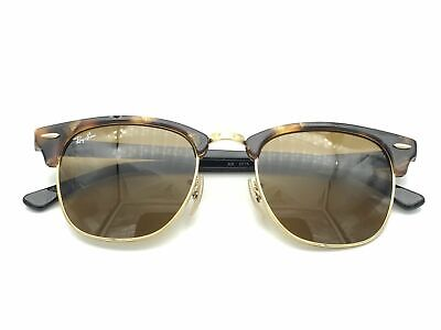 AU99.99 • Buy RayBan Clubmaster Fleck Sunglasses - Tortoise Black Brown B-15 - 3016 1157 49-21