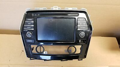 $321.96 • Buy 2018 Nissan Maxima Navigation Display And Receiver AM FM CD Player OEM LKQ