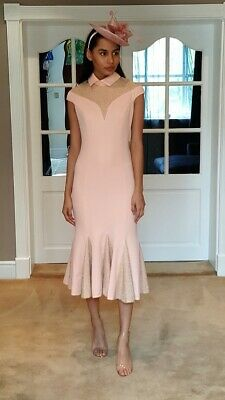 £20 • Buy Wedding Guest/special Occasion Lurex Insert Fishtail Dress