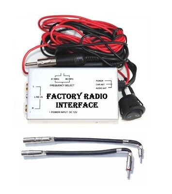 $22.99 • Buy Radio Stereo FM Modulator RCA AUX Audio Input Converter Cable Fits GM Vehicles