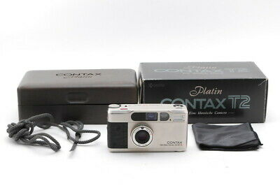 $ CDN2911.55 • Buy [Top Mint In Box] Contax T2 Limited Platin 35mm Point Shoot Film Camera Japan
