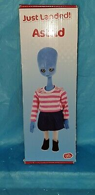AU23.19 • Buy Chad Valley ARGOS TV PROMOTIONAL COLLECTABLE Blue Alien ASTRID BOXED 14  Boxed