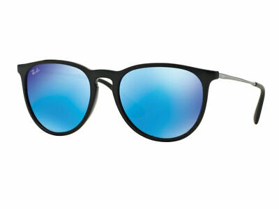 AU99.99 • Buy RayBan Erika Color Mix Sunglasses - Black Blue Mirror - 4171 601/55 54-18