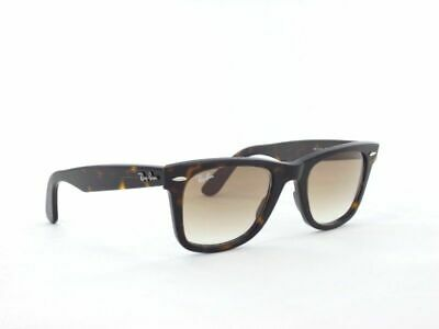 AU99.99 • Buy RayBan Original Wayfarer Sunglasses - Tortoise Light Brown Gradient 2140 902/51