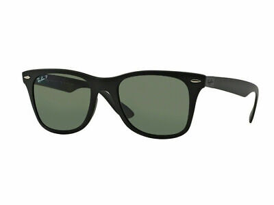 AU119.99 • Buy RayBan Wayfarer Liteforce POLARIZED Sunglasses - Black Green Classic 4195 601S9A
