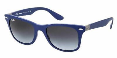 AU99.99 • Buy RayBan Wayfarer Liteforce Sunglasses - Blue Grey Gradient - 4195 60158G 52-20