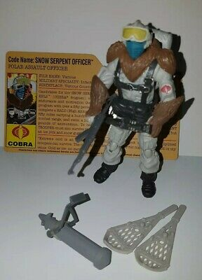 $ CDN39.99 • Buy GI Joe 25th Anniversary SNOW SERPENT OFFICER COMPLETE Extreme Conditions Arctic