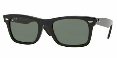 AU99.99 • Buy RayBan Wayfarer SQUARE Sunglasses - Black Green Classic G-15 - 2151 901 52-21