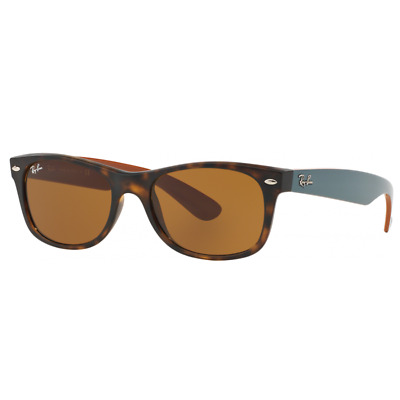 AU99.99 • Buy RayBan New Wayfarer Sunglasses - Tortoise Brown Classic B-15 - 2132 710 55-18