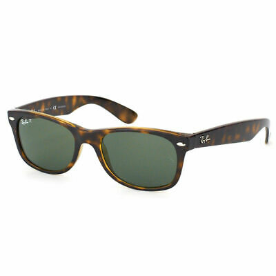 AU129.99 • Buy RayBan New Wayfarer POLARIZED Sunglasses - Tortoise Green Classic 2132 902/58