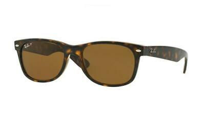 AU129.99 • Buy RayBan New Wayfarer POLARIZED Sunglasses Tortoise Brown Classic B-15 2132 902/57