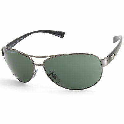 AU99.99 • Buy RayBan 3386 Sunglasses - Gunmetal Black Green Classic - RB3386 004/71 63-13