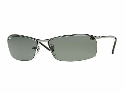 AU129.99 • Buy RayBan 3183 POLARIZED Sunglasses - Gunmetal Green Classic - RB3183 004/9A 63-15
