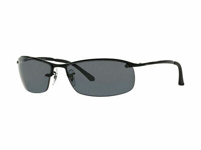 AU129.99 • Buy RayBan 3183 POLARIZED Sunglasses - Black Grey Gradient - RB3183 002/81 63-15