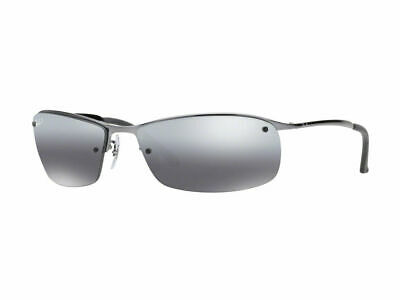 AU129.99 • Buy RayBan 3183 POLARIZED Sunglasses - Gunmetal Silver Mirror - RB3183 004/82 63-15