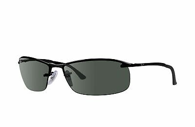 AU129.99 • Buy RayBan 3183 POLARIZED Sunglasses - Black Green Classic - RB3183 002/71 63-15