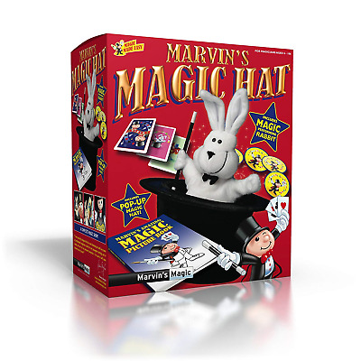 Marvin's Amazing Magic Rabbit And Top Hat - Includes Pop Up Magic Hat And Magic • 18.99£