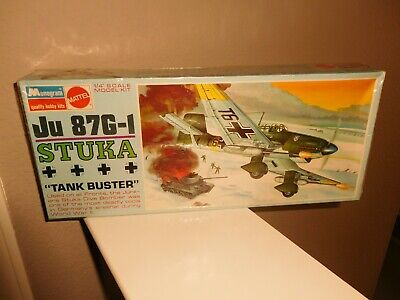 $15.99 • Buy 1968 Model - Stuka Ju 87 G-1 German 1/48 Monogram Kit# 6840 - Sealed - NR!