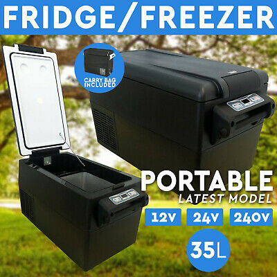 AU359 • Buy 35L Portable Fridge Freezer 12V/24V/240V  For Camping Car Boating Caravan Fridge