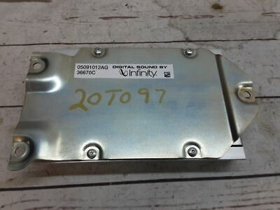 $55 • Buy 2007 Dodge Nitro Infinity Amplifier Amp 05091012AG