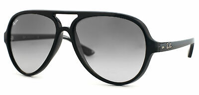 AU99.99 • Buy RayBan Cats 5000 Sunglasses - Black Light Grey Gradient - 4125 601/32 59-13
