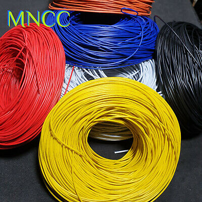 AU7.25 • Buy UL-1007 24AWG Insulated PVC Hook-Up Wire 300V Electrical Wire 11 Strand 1.4mm OD